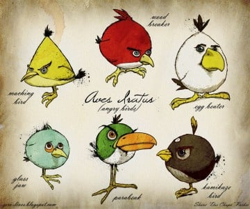 Angry birds reales
