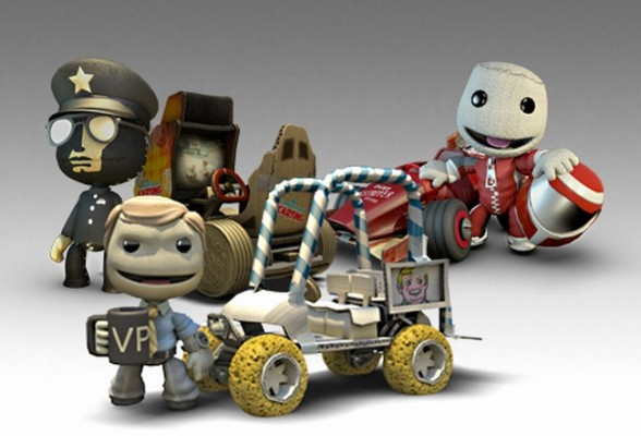 DLC Karting Little Big Planet