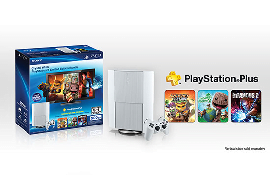 PS3 Crystal White