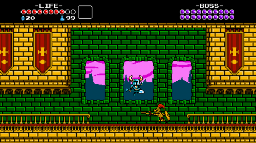 gameplay Shovel Knight