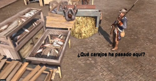 Glitches videojuegos Assassin's Creed