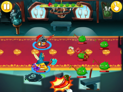 Combate Angry Birds Epic