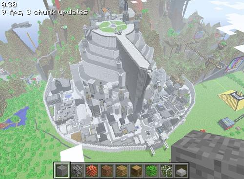 Minecraft megaconstrucción