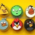 Angry Bird's Cake