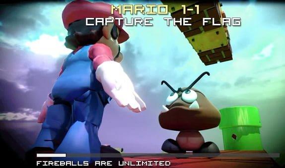 Mario como un fps
