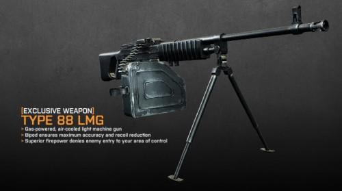 Ametralladora DLC Battlefield 3