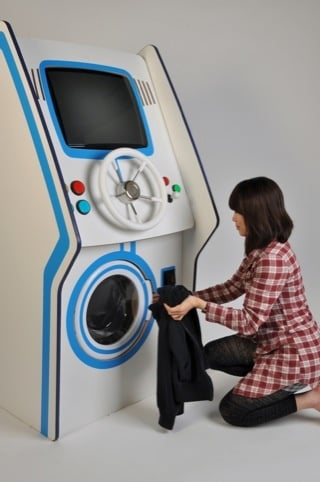 lavadora divertida