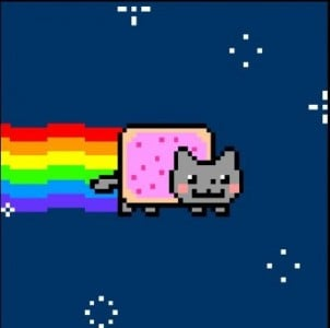 nyan cat fps
