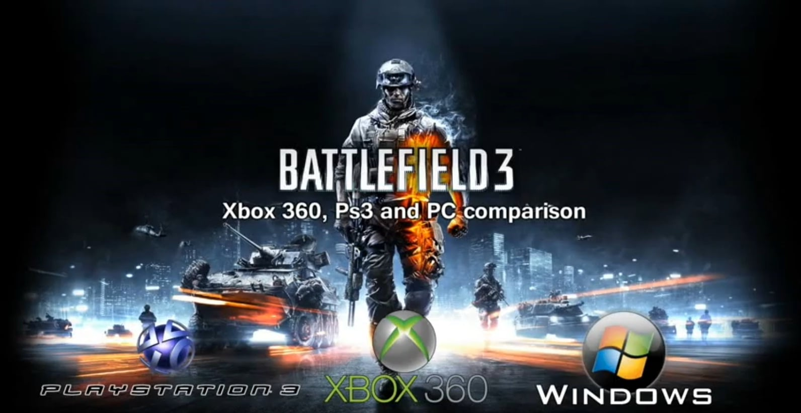 Battlefield 3 PC XBox 360 PS3