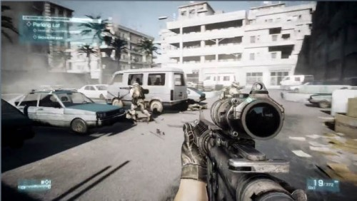 Battlefield 3 lanzamiento