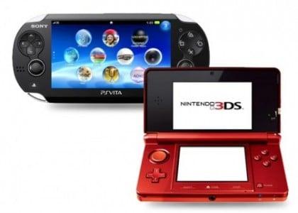 PS Vita Nintendo 3dS