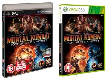 Mortal Kombat Komplete Editio
