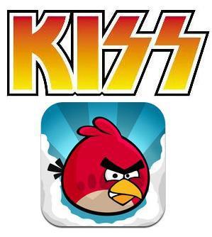 KISS Angry Birds