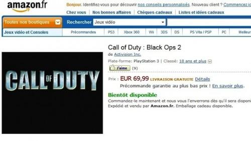 Black Ops 2 amazon