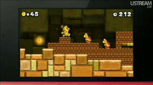 Super Mario para 3DS