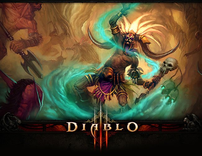 Wallpaper Diablo III