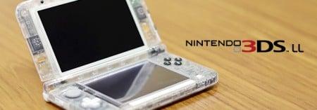 Nintendo 3DS transparente