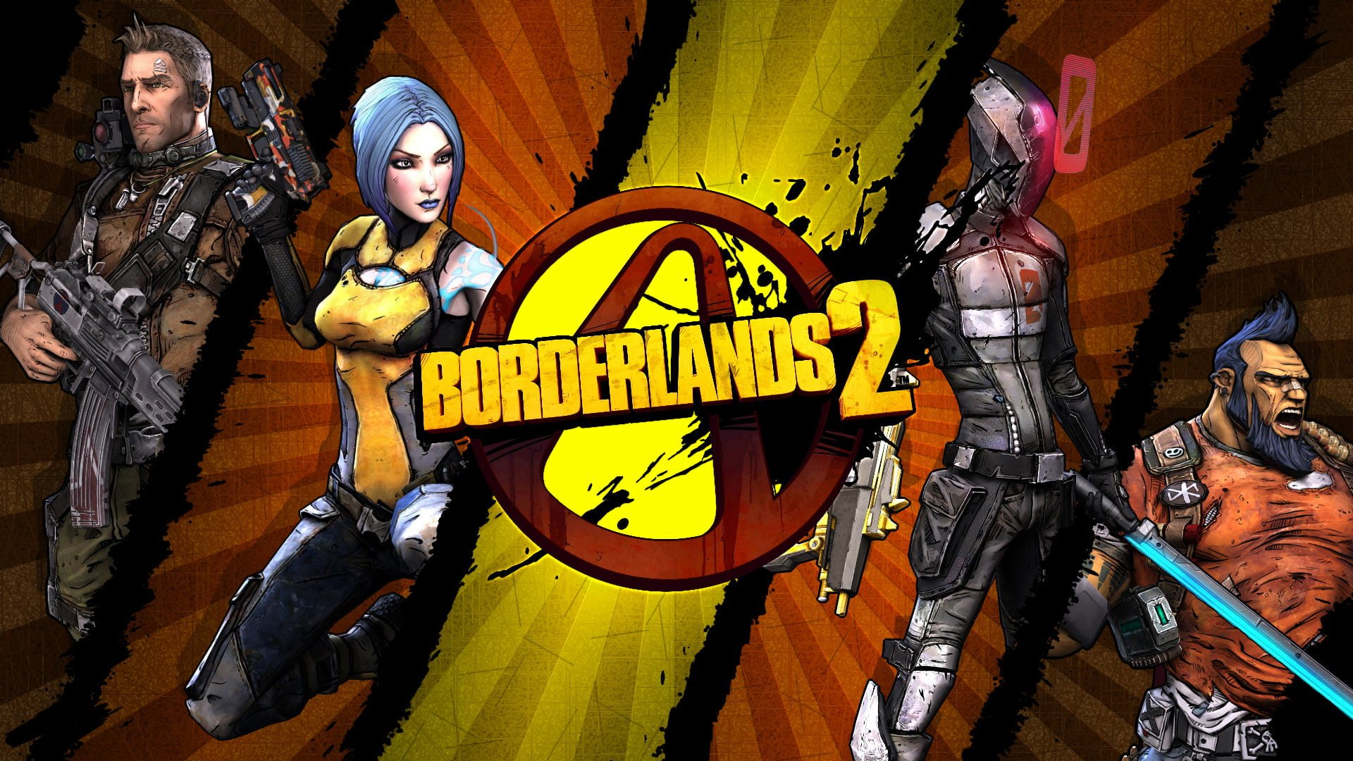 Borderlands 2 personajes