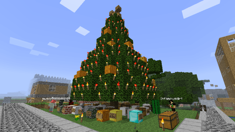 Christmas Tree Minecraft
