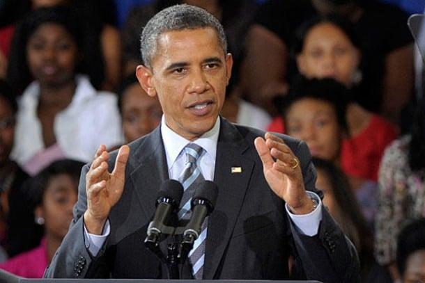 Violencia con armas - Barack Obama