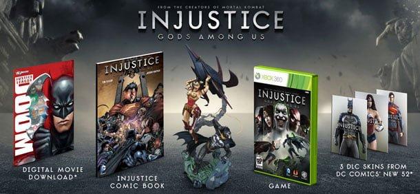 Edición Coleccionistas Injustice Gods Among Us