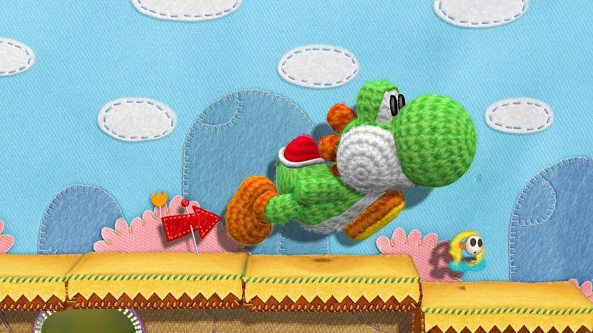 Yarn Yoshi para Wii U