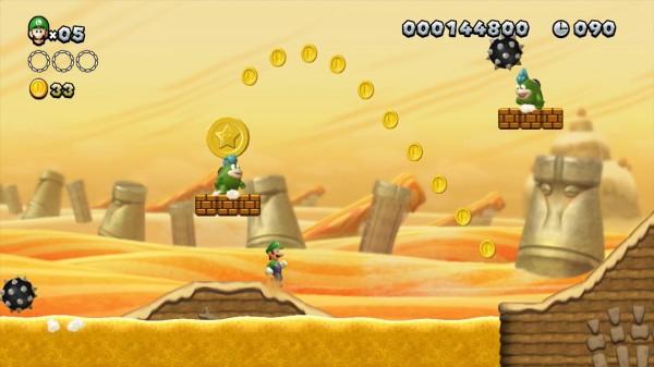 imágenes New Super Luigi U