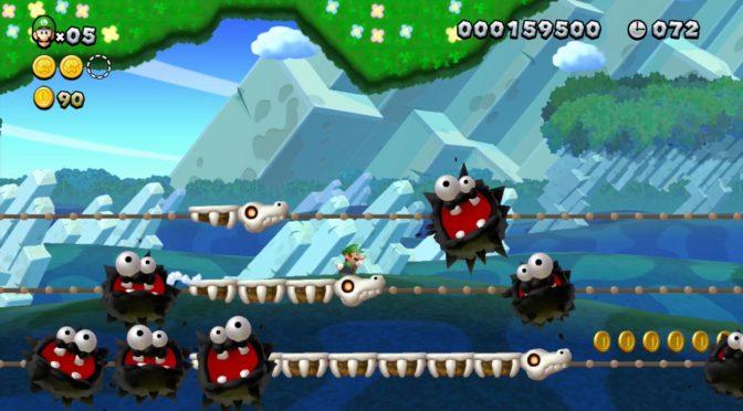 gameplay New Super Luigi U