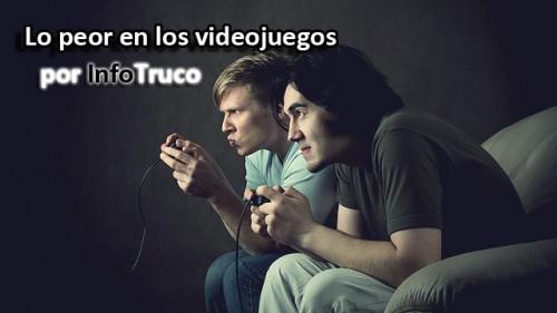 Peores videojuegos