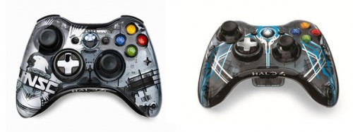 Controles Halo 4 Xbox 360