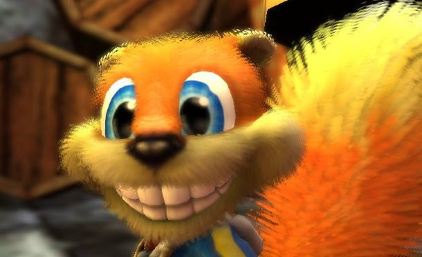 Conker's Bad fur day para Wii U