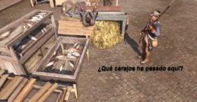 Glitches videojuegos Assassin's Creed