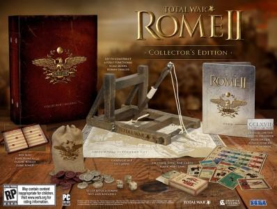 Edición coleccionista Total War Rome II