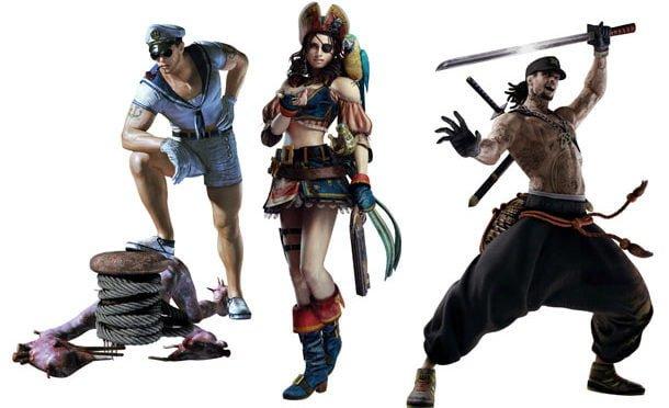 Resident Evil Revelations trajes