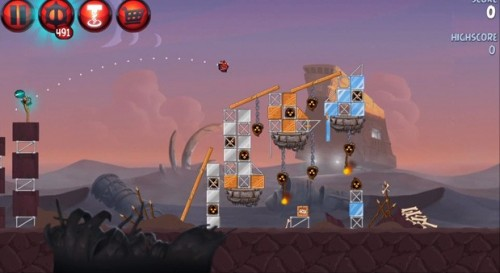 Detalles Angry Birds Star Wars 2