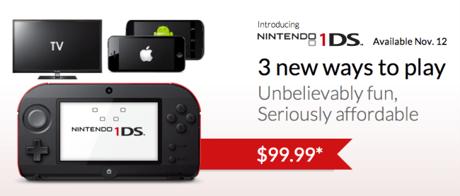 Detalles Nintendo 1DS