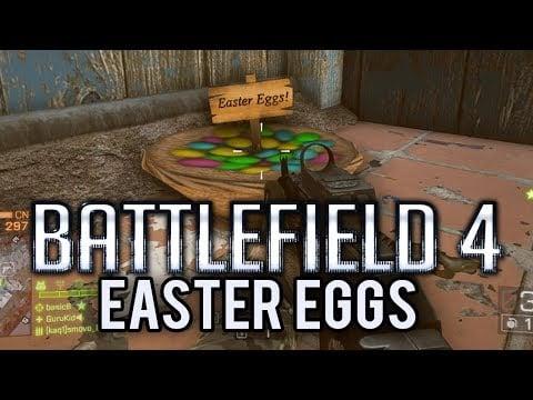Huevos de pascua en Battlefield 4